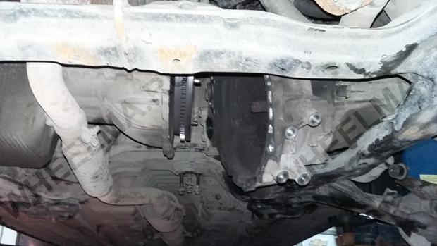Hyundai Elantra 2003 коробка снята без демонтажа подрамника