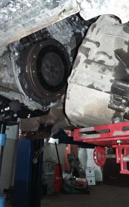 Замена сцепления на Nissan X-Trail T31